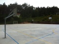 Pistas basquet y futbol
