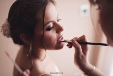 La quimica maquillando